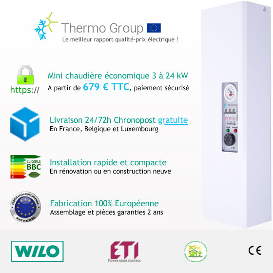 Chaudi�re �lectrique Thermo group